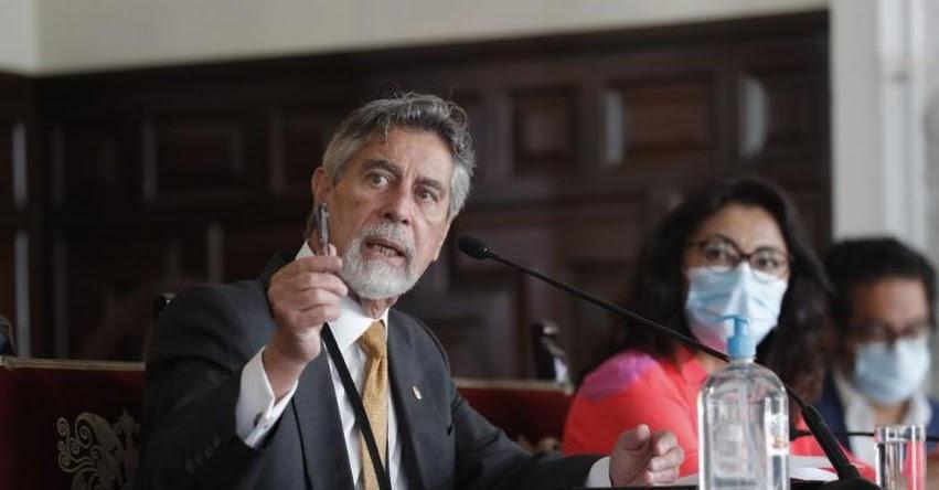 VACUNA COVID: Con vacunación del presidente Sagasti hoy se inicia proceso de inmunización contra el coronavirus - www.minsa.gob.pe