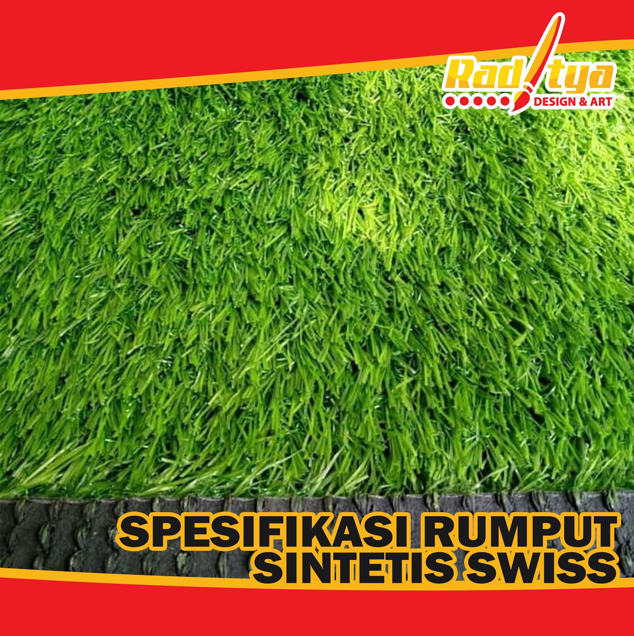 Spesifikasi Rumput Sintetis Swiss