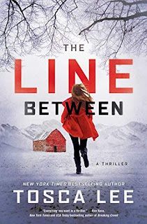The Line Between - an unputdownable, non-stop thriller book promotion NYT bestseller Tosca Lee
