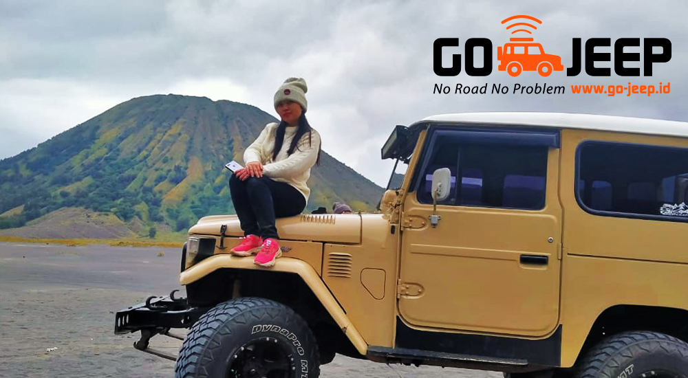jeep land cruider fj40 gunung bromo