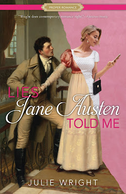 Heidi Reads... Lies Jane Austen Told Me by Julie Wright