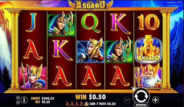 Main Gratis Slot Indonesia - Asgard (Pragmatic Play)