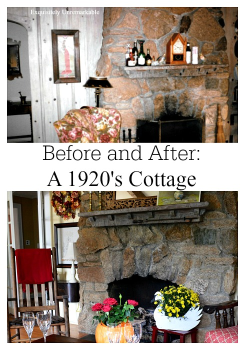 Before and After A 1920's Cottage Renovation