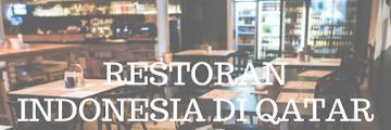 Restoran Indonesia di Qatar