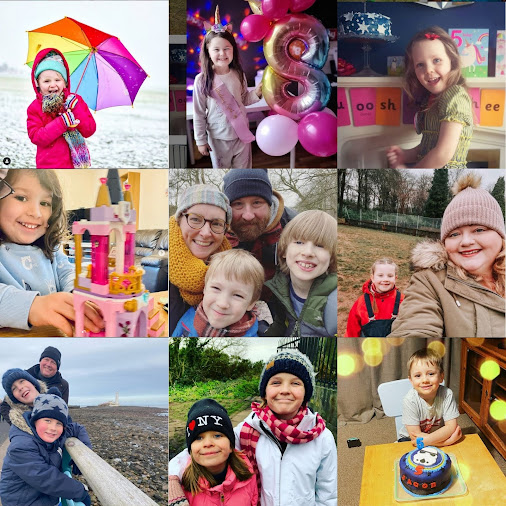 TBCSMiles 78 months Feb 2021 Collage showing 9 of your smiles