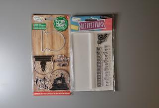 zakupy action Stemple świąteczne z wykrojnikiem  Stemple z bloczkiem akrylowym