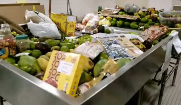 Illegal Food Confiscated At U.S. Customs
