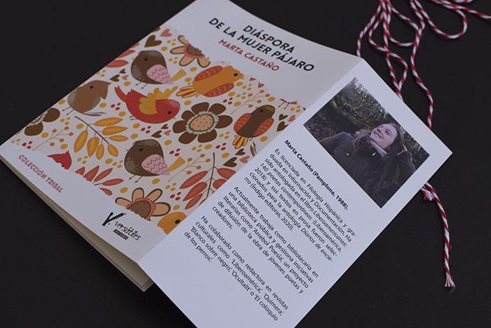 «Diáspora de la mujer pájaro», de Marta Castaño (Editorial Versátiles)