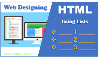 Creating List in HTML