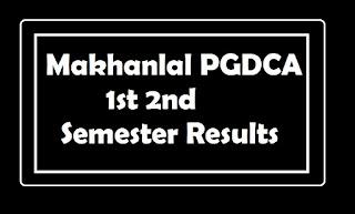 Makhanlal PGDCA 1st 2nd Semester