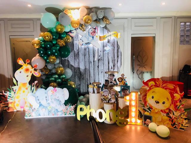 trang trí sinh nhật cho bé tại Hoàng Mai