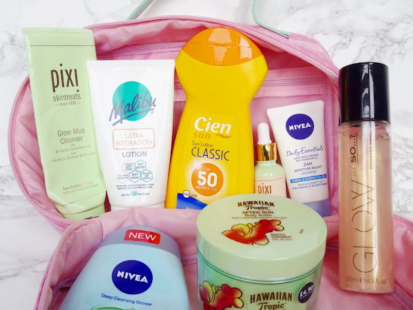 What I Took To Lanzarote - Beauty Edition