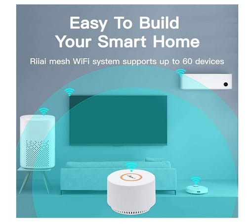 Riiai Mesh WiFi System 1200Mbps Router/Extender