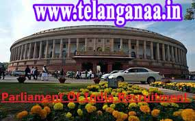 Parliament of India Recruitment Notification 2016 Post Apply Online