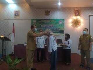 Kaban Kesbangpol Provinsi Jambi Secara Resmi Membuka Seminar Ormas DPW AHN.