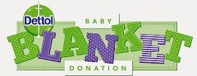 Dettol baby blanket logo