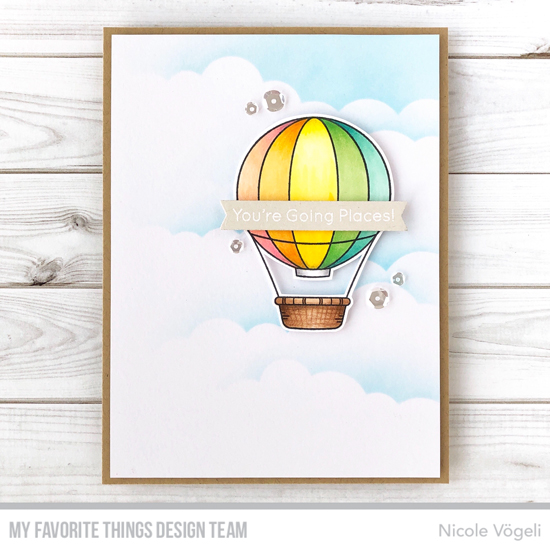 Handmade card by Nicole Vogeli featuring products from My Favorite Things #mftstamps