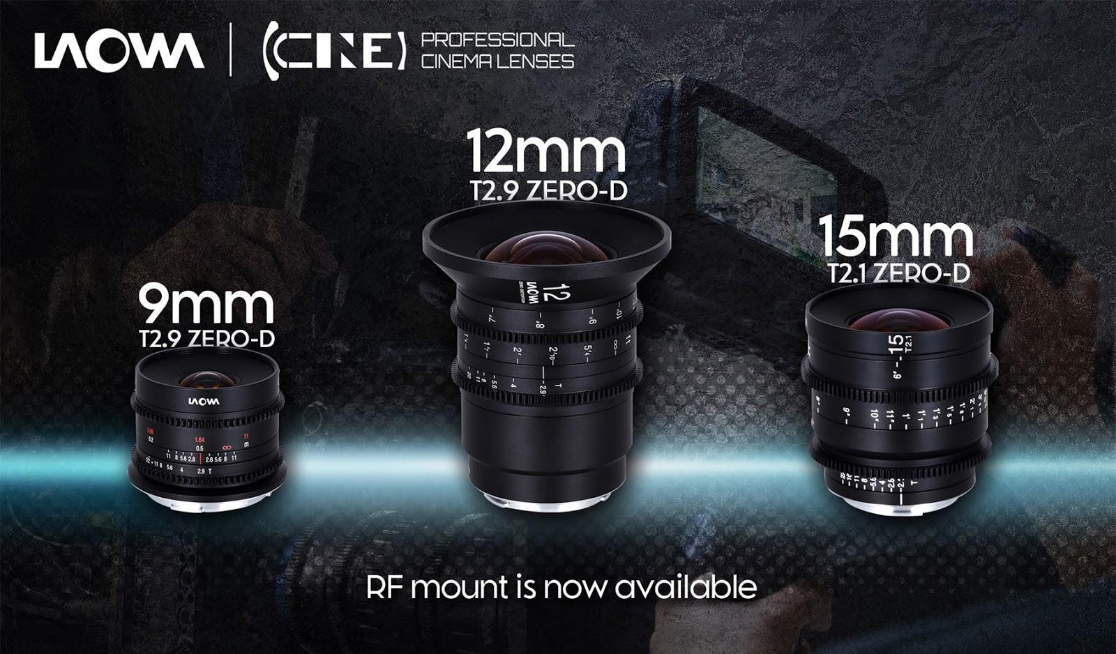 Объективы Laowa с байонетом Canon RF