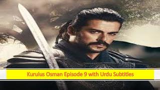 kurulus osman season 1 episode 9 in urdu subtitles