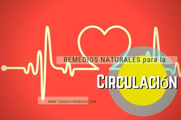 Remedios naturales para mejorar la circulación sanguínea