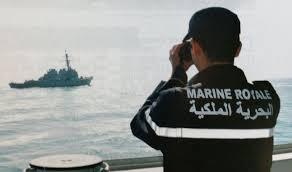 """موقع مغربي : البحرية المغربية تعترض قارب تهريب و توقف موريتانيين على شواطئ """" لقويره - القرقرات """""""