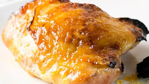 Healthy Recipes | Baked Ginger Peach Chicken