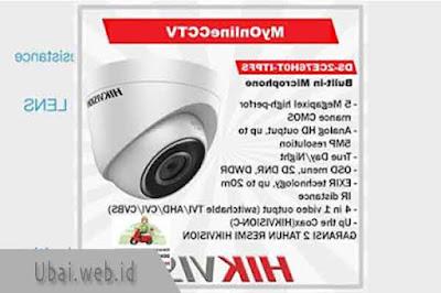 DS-2CE76H0T-ITPFS Hikvision Kamera CCTV 5MP