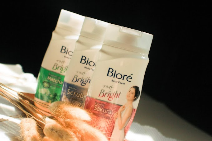 [Review] Biore Bright Body Wash