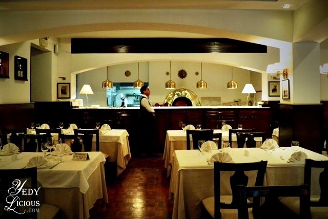 Beautiful Interior at Caruso Italian Restaurant