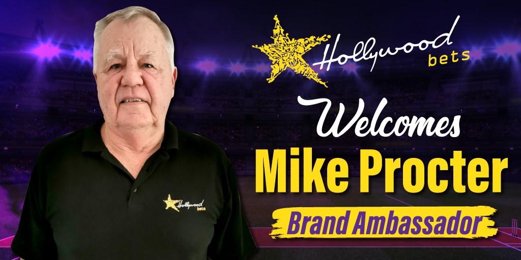 Mike Procter - Brand Ambassador for Hollywoodbets