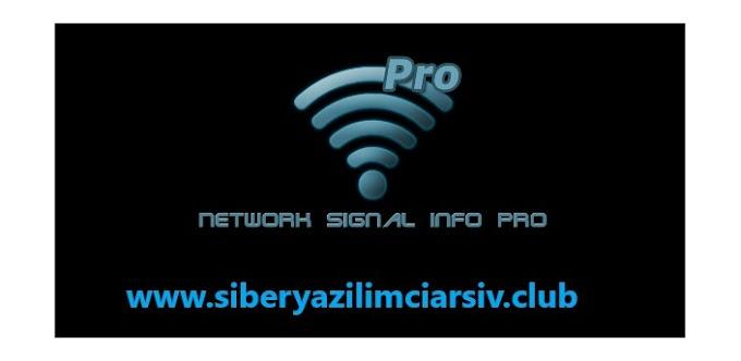 Ağ Sinyal Bilgileri Pro Apk - Full Apk