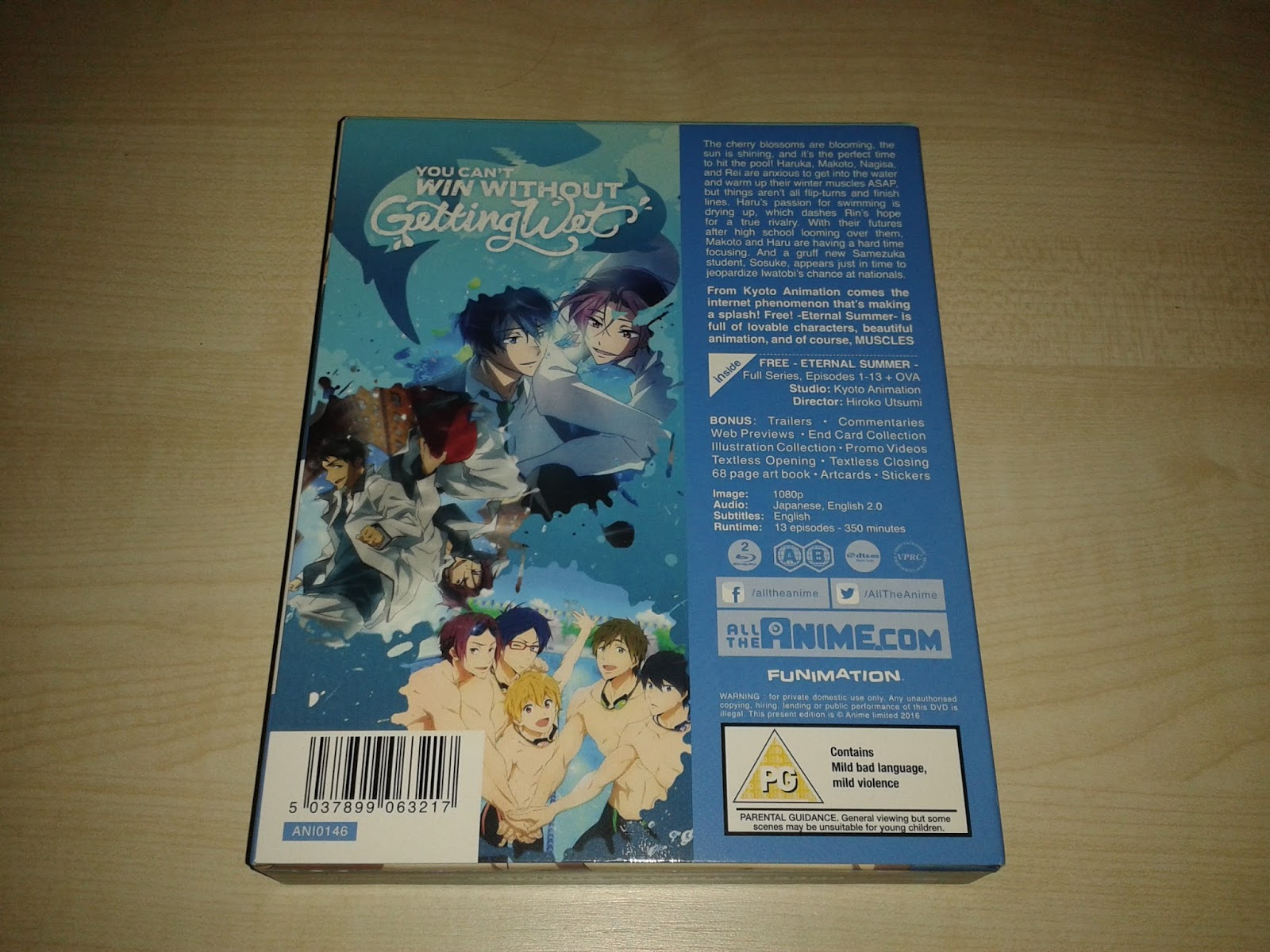 The Normanic Vault: Unboxing [UK]: Free! Eternal Summer - Complete ...