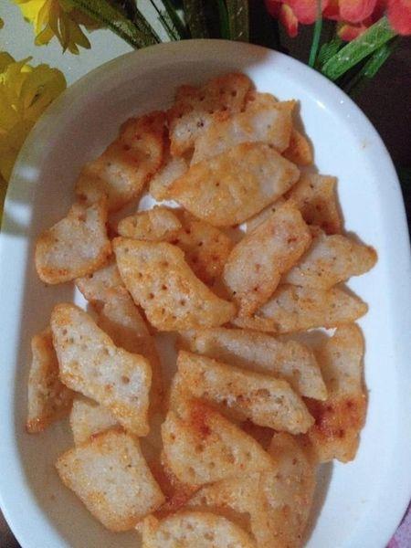 ක්රිස්පි හාල් පිටි චිප්ස් 😊😊😊😊😋😋🥘 ( Crispy Rice Flour Chips ) - Your Choice Way