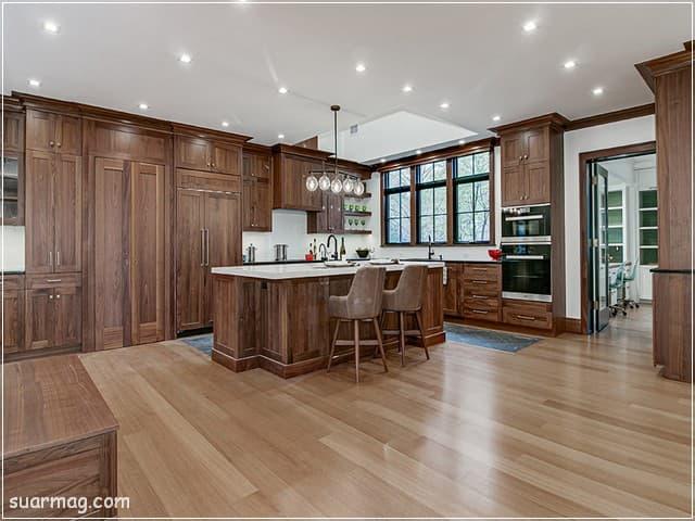 مطابخ مودرن خشب 6   Modern Wood kitchens 6