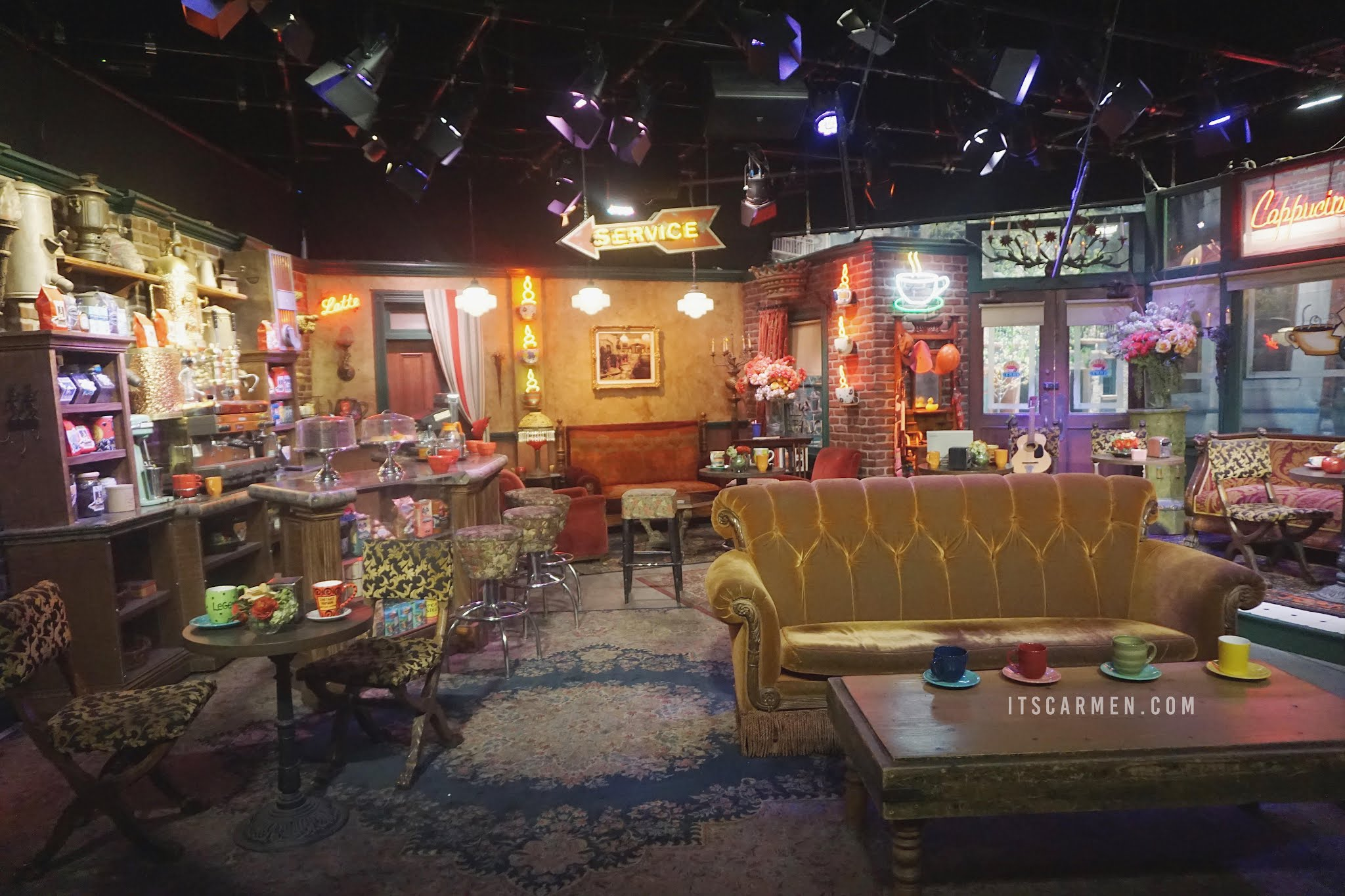 Central Perk Cafe From Friends: Warner Bros Studio Tour set tour friends set central perk central perk friends friends studio friends coffee shop where was friends filmed friends central perk friends cafe central perk set
