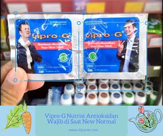 vipro-g nutrisi antioksidan wajib di saat new normal