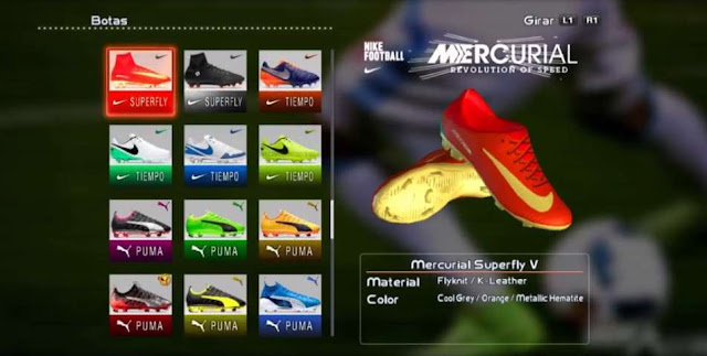 Nike Mercurial Superfly Campeões Boots PES 2013