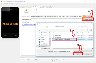 Cara Flash Lenovo A1000LF Via Sp Flashtool
