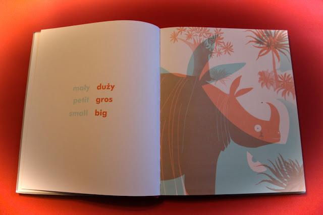 """""""Dzień dobry, do widzenia. Magiczny słownik antonimów"""" Delphine Chedru"""