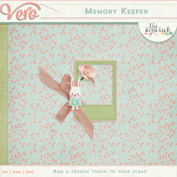 Vero - Memory keeper - Blog hop
