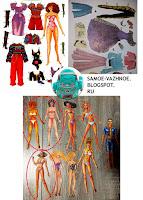 Бумажные куклы 90е 90ых. Кукла из бумаги 90 перестройка ларёк