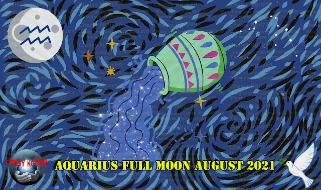 Aquarius Full Moon August, Aquarius Full Moon Rituals, Trăng tròn tháng 8 nghi lễ