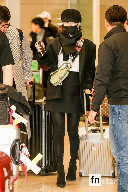 [Airport Fashion] 190228 SUZY @ Incheon International Airport