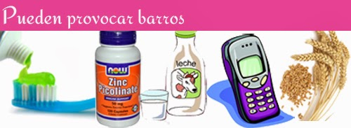 causas barros y acne