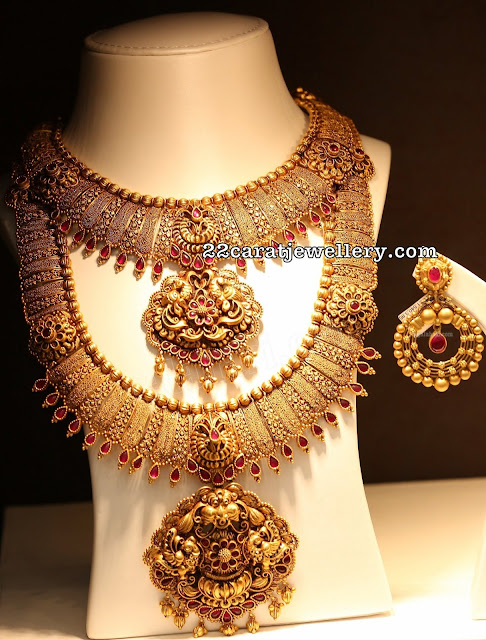 Antique Broad Fancy Haram Choker