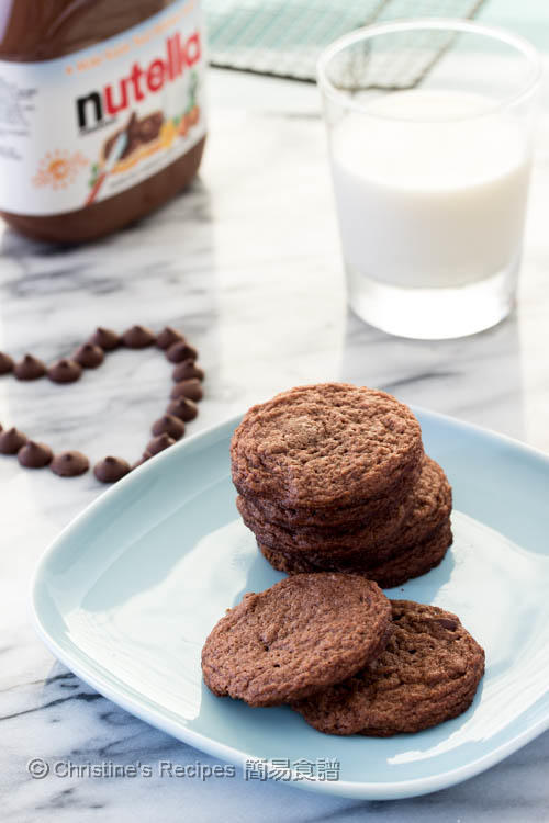 Nutella Chocolate Cookies03