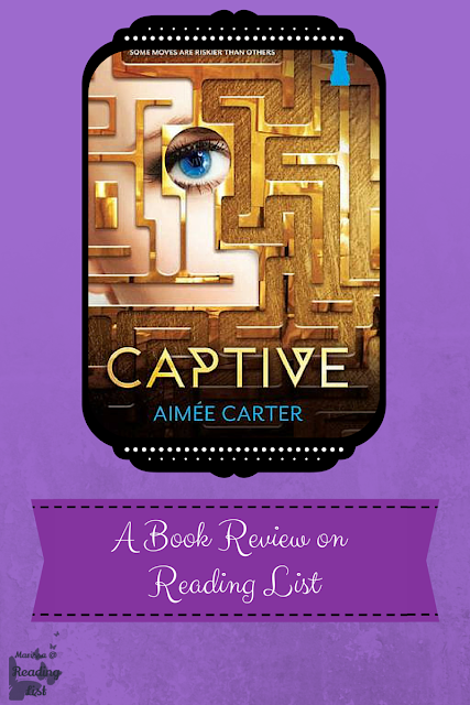 Captive The Blackcoat Rebellion #2 By Aimee Carter  a book review on Reading List