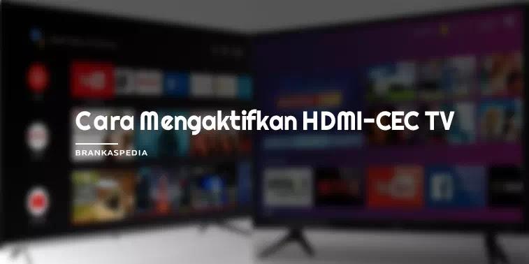 Cara Mengaktifkan HDMI-CEC di TV