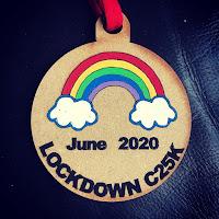 Lockdown C25K medal
