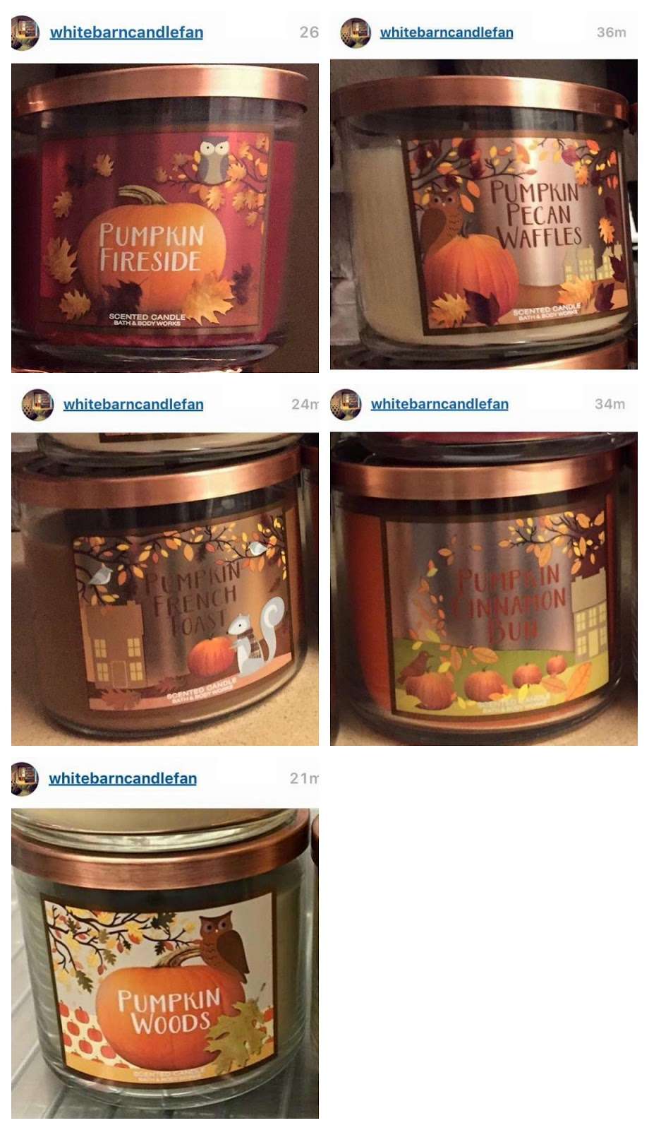 Life Inside The Page Bath Amp Body Works Fall Test